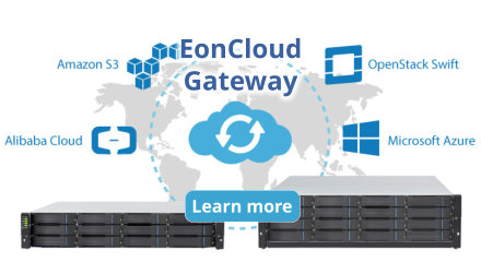 Cloud integrated Storage with EonCloud Gateway