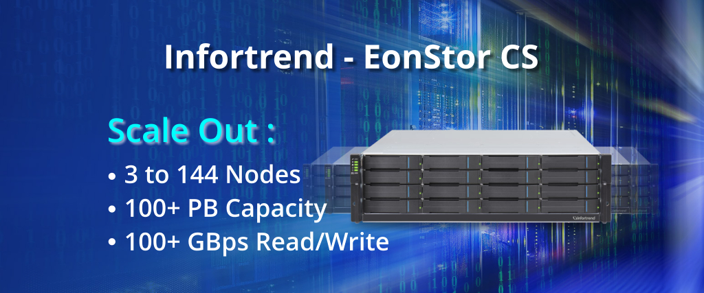 EonStor CS, Enterprise shared storage